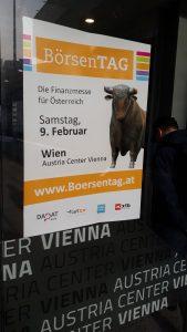 Börsentag 2019 in Wien Eingang